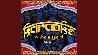 Jis Dil Mein Basa Tha Pyar Tera (Karaoke Version)
