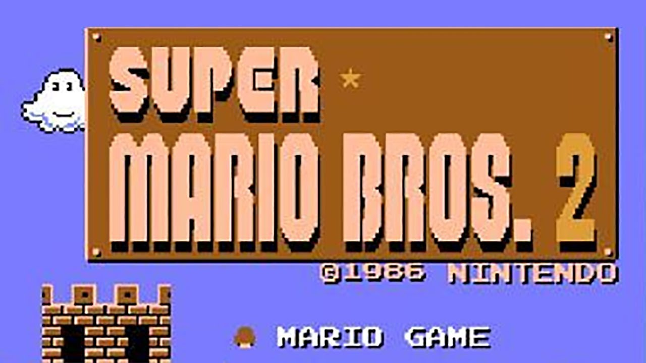 Super Mario Bros The Lost Levels Famicom Gameplay Wii Youtube