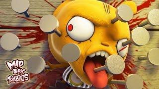 Zombie cartoons: Zombie's Got Talent - Mad Box Zombies