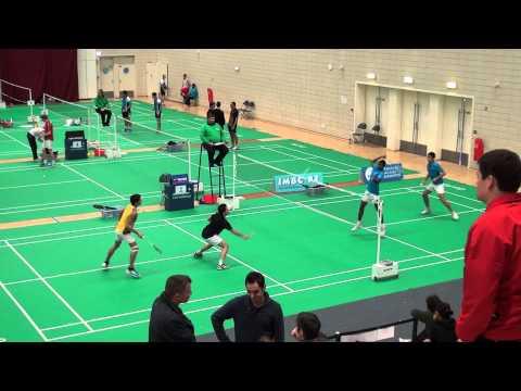Thibault Nguyen (A4/B1/A4)  J. Noblecourt  (A4/B3/B4) vs B. Tang (A3/B3/B3) Rumesh ashan (C1/C3/C4)