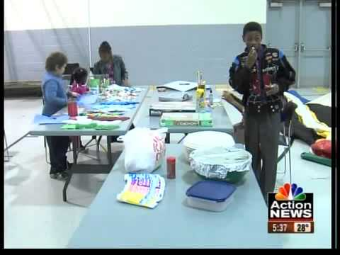 Missouri National Guard members celebrate the holidays