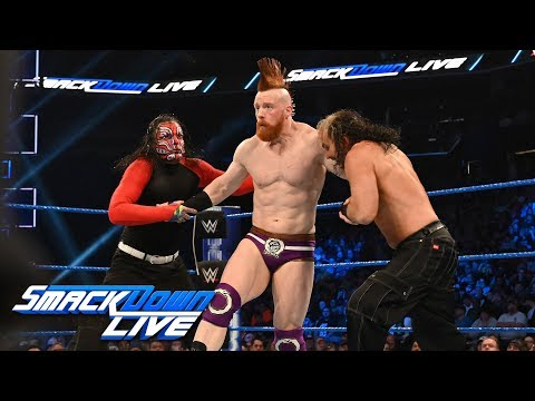 The Hardy Boyz vs. The Bar: SmackDown LIVE, Feb. 26, 2019