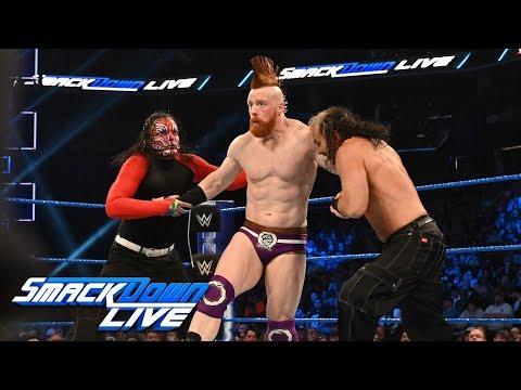 The Hardy Boyz vs. The Bar: SmackDown LIVE, Feb. 26, 2019