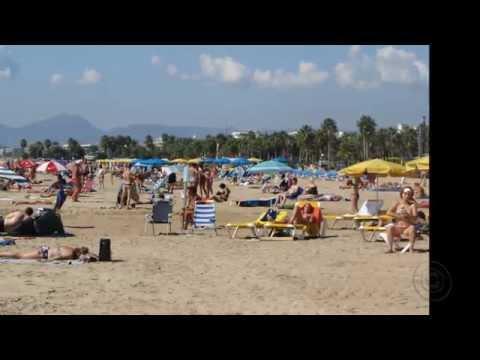 Пляжи Салоу.  Испания