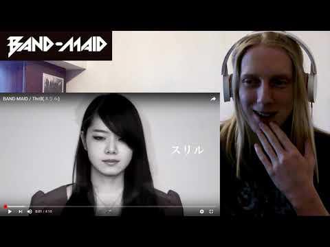 BAND-MAID / Thrill(スリル) Reaction