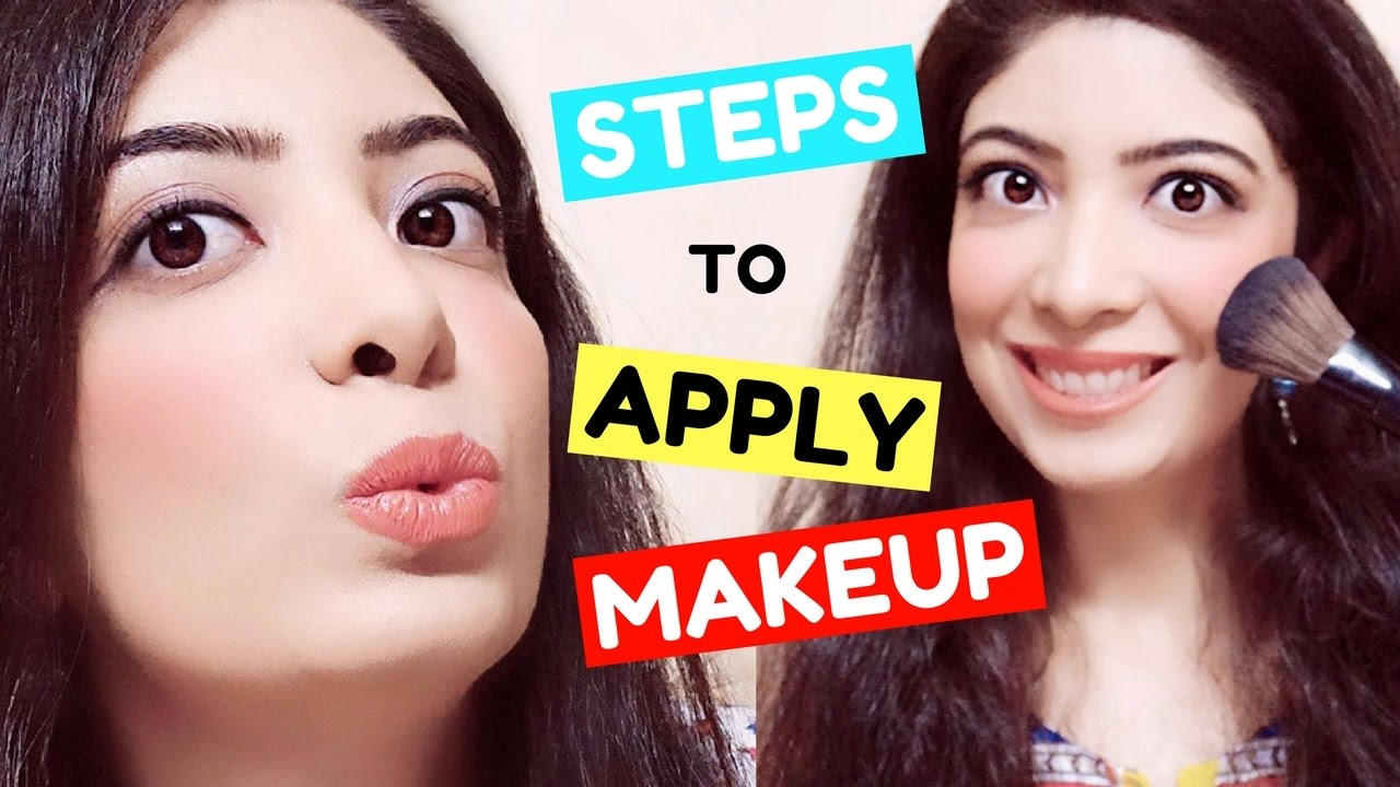 Step By Step Makeup For Beginners In Hindi  How To Apply ���ेकअप  Tutorial  & Tips  Bhawna Ahuja