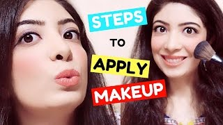 Step by Step Makeup for Beginners in Hindi | How to Apply Makeup Easy Tutorial & Tips | Bhawna Ahuja