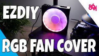 EZDIY RGB Fan Grill, can't cook on it though