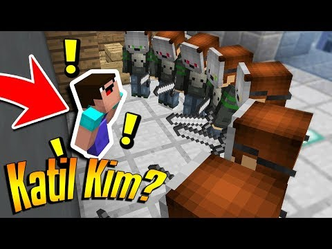 KATİL İÇİMİZDE ! KATİL KİM - Minecraft Murder #17 BKT