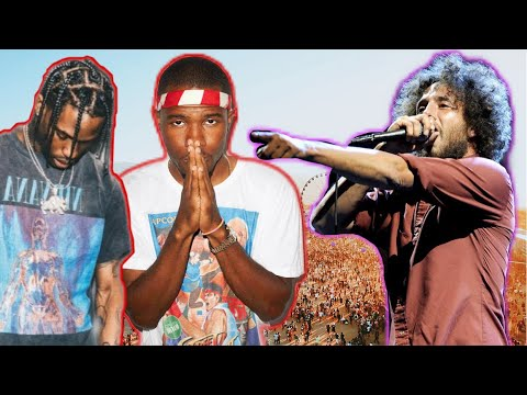 Rage Against The Machine, Travis Scott & Frank Ocean Set for ...