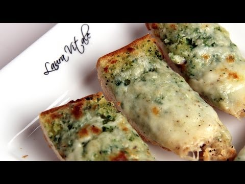cheesy-garlic-bread-recipe---laura-vitale---laura-in-the-kitchen-episode-288