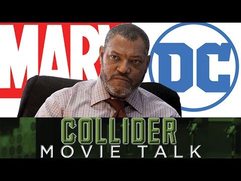 Laurence Fishburne Says Marvel Is Kicking DC