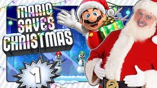 MARIO SAVES CHRISTMAS (2020) 🎁 #1: Ein Weihnachts-Hack zu Heiligabend