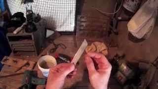 Life hacks: Cutter blade and duct tape emergency knife