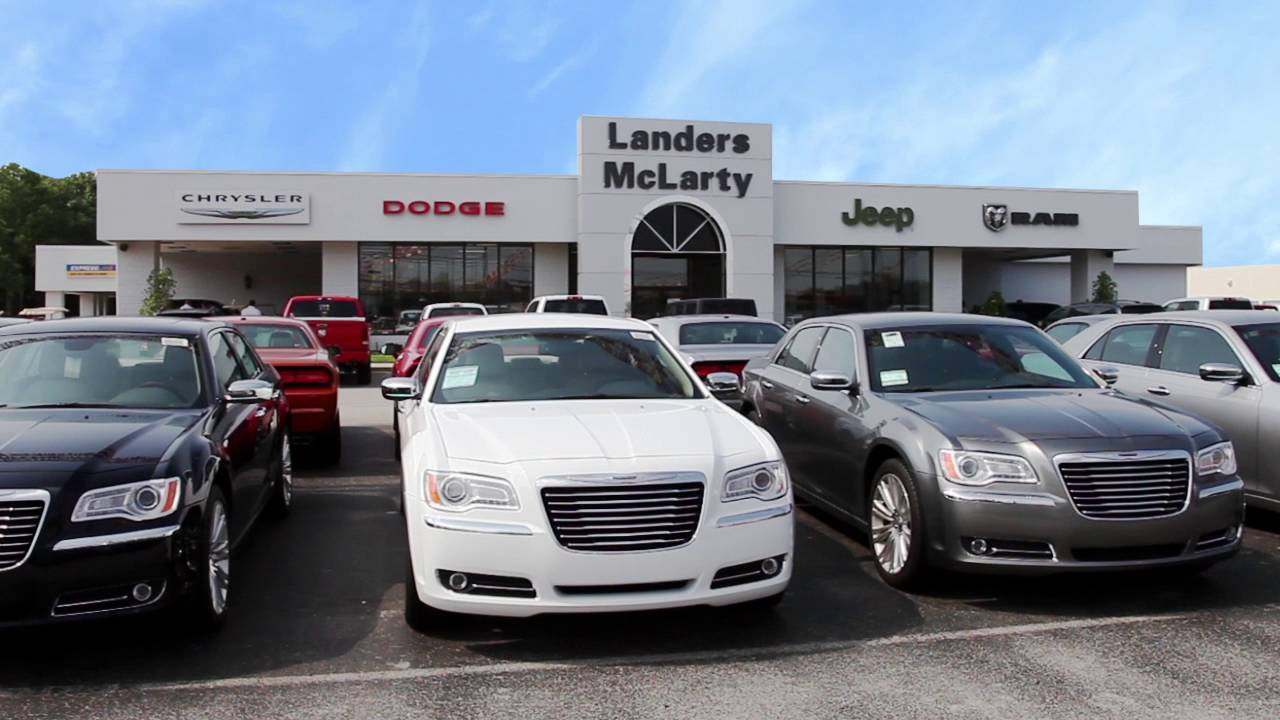 Frank Williams And Landers McLarty. Landers McLarty Dodge Chrysler Jeep Ram