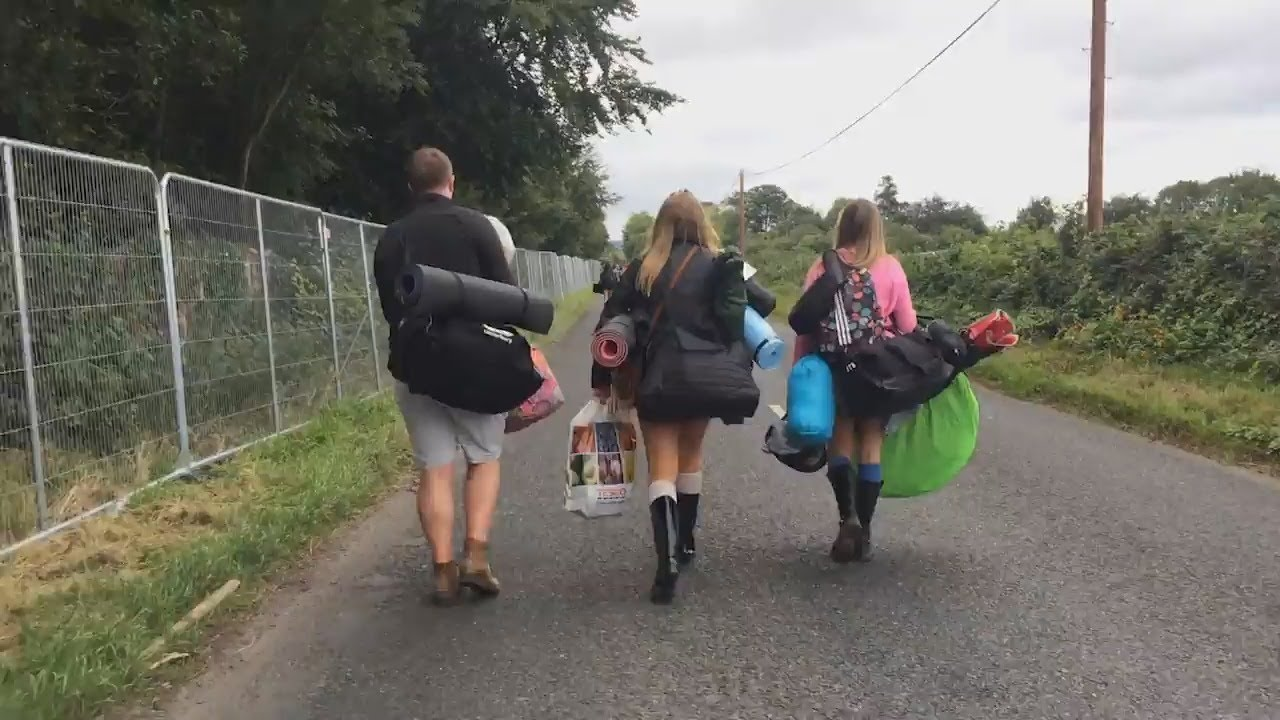 Watch Crowds Arrive To Pitch Their Tents As Electric Picnic 2018