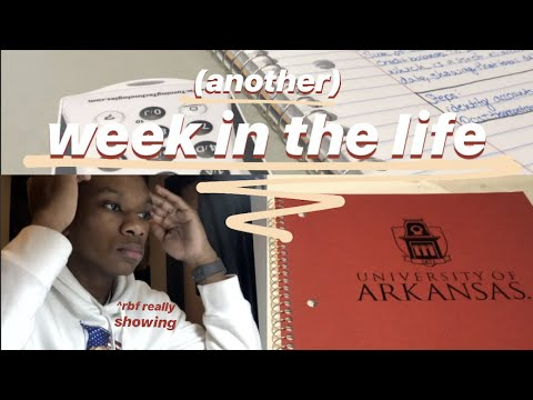 ANOTHER WEEK IN THE LIFE // University Of Arkansas