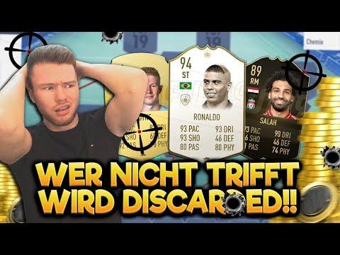 wer NICHT trifft wird DISCARDED #09 😱😱 (FIFA 19 CHALLENGE)