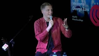 LIVE: George Ezra at iHeartRadio Sound Stage