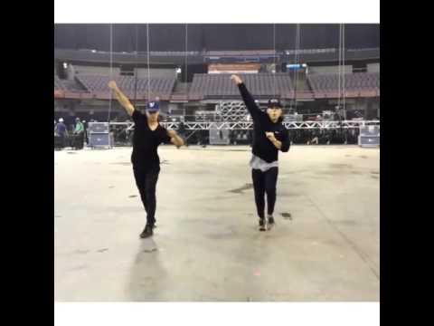 Zac Vran and Trevor tordjorman from the next step dance