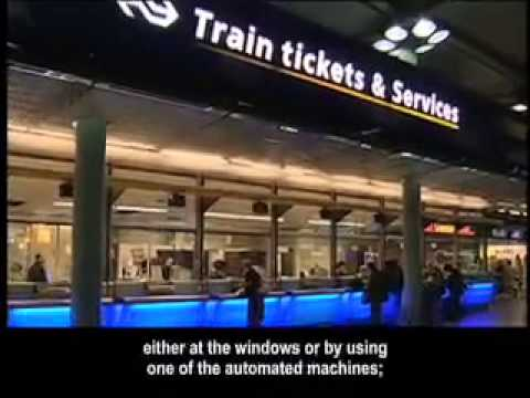 AMS Continental Airlines Arrival Video Amsterdam Schiphol Airport 2010  English