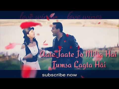 Aate Jate Jo Milta Hai Lyrics Whatsapp Status Video