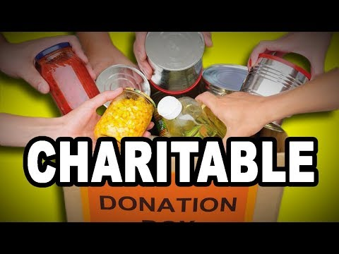 💗💲 Learn English Words: CHARITABLE - Meaning, Vocabulary with Pictures and Examples
