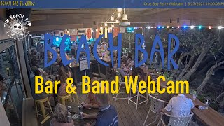 Preview of stream Beach Bar in Cruz Bay