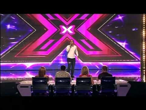 Hayden Maurirere - Auditions - The X Factor Australia 2012 night 3 [FULL]
