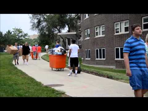 Move-in day at UMass Lowell