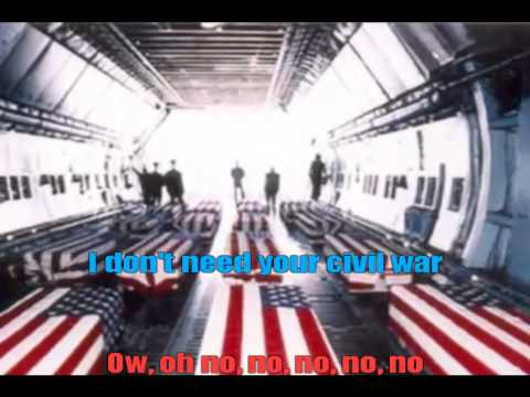 Guns N' Roses Civil War Karaoke Video HD