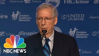 Mitch Mcconnell: Brett Kavanaugh Will Be On Supreme Court, In 'Very Near Future' | NBC News