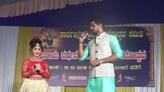 Advika Shetty Did Santhekatte prgm 16.10.2018