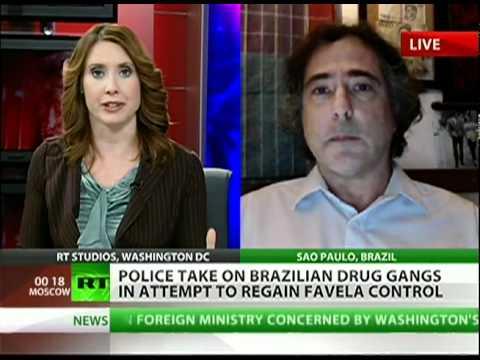 Drug gangs battle Brazilian police for favelas