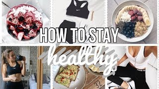 HOW TO STAY HEALTHY DURING HIGH SCHOOL ♡ advice & tips