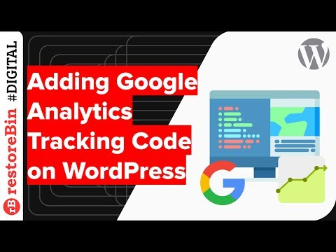 Easily insert Google Analytics tracking code in WordPress 🌐 without Plugin