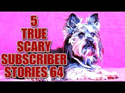5 TRUE SCARY SUBSCRIBER STORIES EPISODE 64