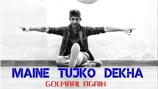 Maine tujhko dekha   golmaal again   dance choreography   nikul mistry