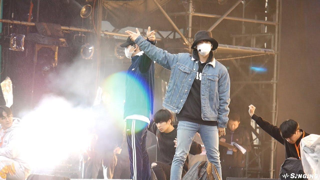 191231 Super Junior D&E - 땡겨(Danger) @2020台北跨年晚會彩排 New Year's Eve rehearsal in Taipei