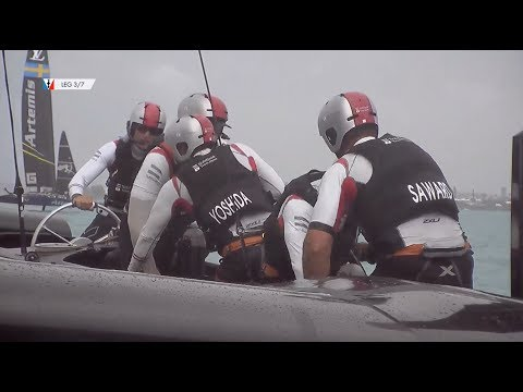 America's Cup Playoffs Day Three // SoftBank Team Japan