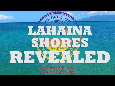 Best Places To Stay in Maui - Lahaina Shores