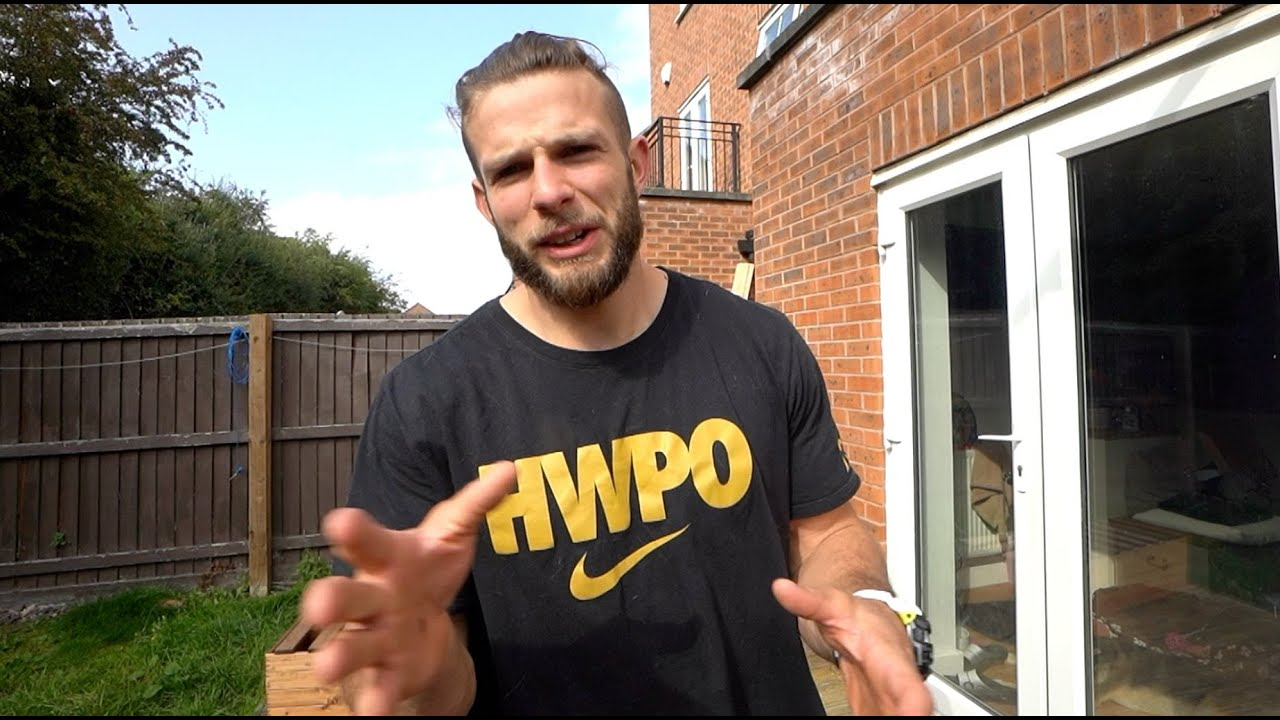 I did a 2020 CrossFit Games workout in my garden