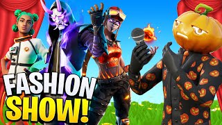 I HOSTED A FORTNITE SEASON 3 FASHION SHOW!