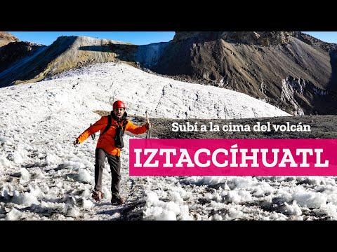 La mujer dormida, ascenso al Volcán Iztaccíhuatl en Puebla   El Andariego