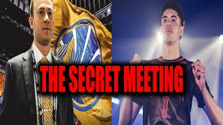 THE WARRIOR'S UNTOLD SECRET MEETING WITH LAMELO BALL... WHAT HAPPENED?
