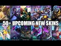 MOBILE LEGENDS | 50+ UPCOMING SKIN, BLANK SKIN AND SURVEY SKIN