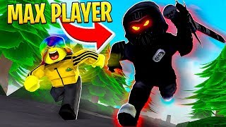 MAX PLAYER went CRAZY in the HARDEST GAME.. (Roblox)