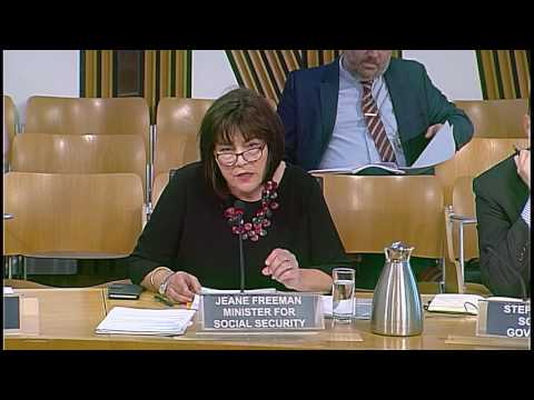 Social Security Committee - Scottish Parliament: 29th September 2016