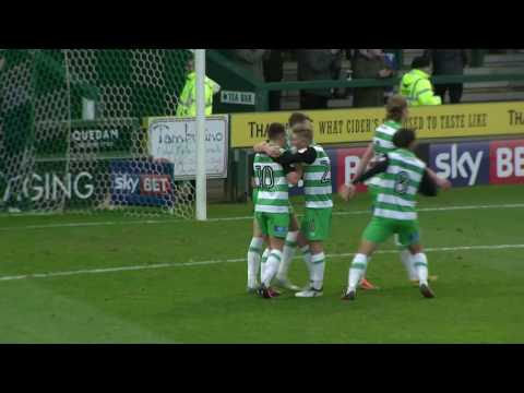 HIGHLIGHTS: YEOVIL TOWN 5-0 CRAWLEY TOWN