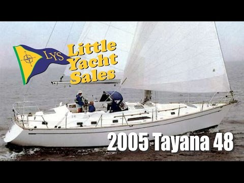 2005 Tayana 48 sailboat for sale at Little Yacht Sales, Kemah Texas
